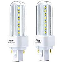 PowerPac PP6627 Vertex PLC LED Tube 7Watts DLx 2pcs WHITE