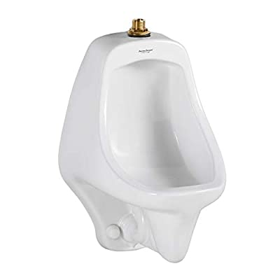 American Standard 6550001.020 Allbrook Urinal with 3/4-In Top Spud, 0.75 in in, White