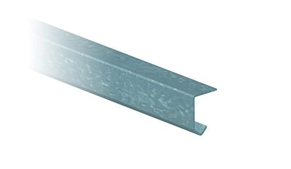 Saheco - Perfil superior galvanizado sf-20 3m: Amazon.es: Bricolaje y herramientas
