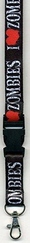 Zombie Heart (I Heart Zombies -Neck Lanyard Id-key Holder)