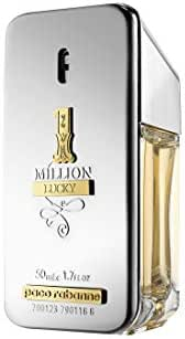 1 Million Lucky by Paco Rabanne Eau de Toilette Spray 50ml