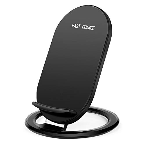 Hootech iPhone X Wireless Charger, QI Fast Wireless Charging Pad Stand, Standard Charge for Samsung Galaxy Note 8 S9 Plus S8 Plus S8 S7 S7 Edge Note 5, Standard Charge for iPhone X iPhone 8/8 Plus by Hootech (Image #7)