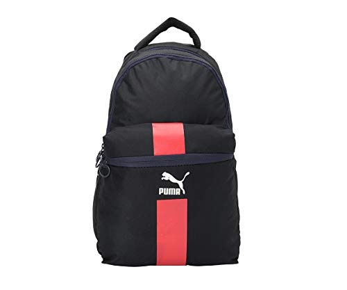 Puma 27 Ltrs Peacoat-High Risk Red-Puma White Laptop Backpack (7619303_X)