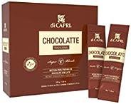 Di Capri Mistura para Preparo de Chocolate com Leite, Contém 10 Sticks de 20g