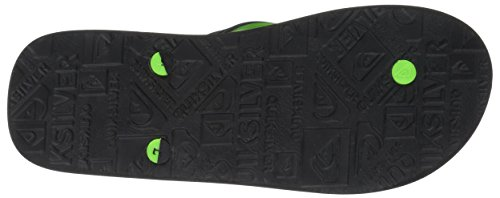 Haleiwa Print Black Men's Green Sandal Quiksilver Grey 1U5gwAq