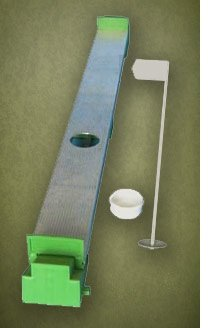 Extreme Green Legacy 4 Golf 4' X 12' Practice 2 Cup Chipping Putting Trainer by Extreme Green (Image #3)