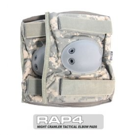 Night Crawler Tactical Elbow Pads (ACU) - paintball elbow pads by RAP4