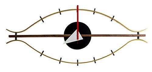 MLF Eye Clock, George Nelson Designed Antique Retro Wall Clock(All Nelson Series ()
