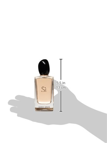 Giorgio Armani Si Eau de Parfum Spray for Women, 3.4 Ounce