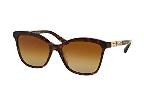 Bvlgari BV8163B 504/T5 Sand/Havana BV8163B Cats Eyes Sunglasses Polarised Len
