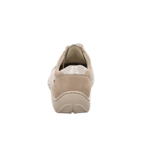 Waldlaufer Scarpe Donna gold Stringate Cream Beige OOZrwqHg