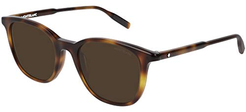 Sunglasses Montblanc MB 0006 S- 002 Havana/Brown