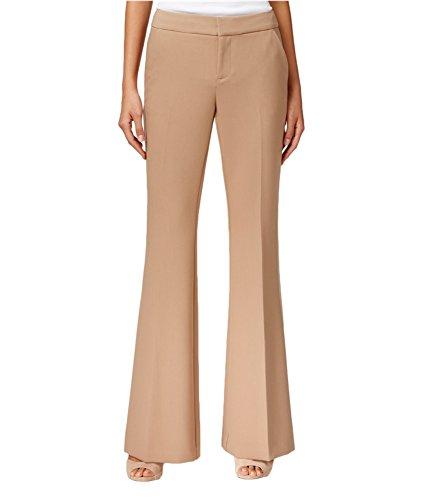 INC Womens Regular Fit Flare Leg Dress Pants Tan 12 (Inc Dress Pants)