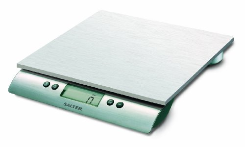- Salter Stainless Steel Aquatronic 22-Pound Scale