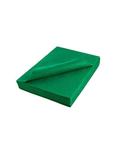 Emerald Green Acrylic Felt - Acrylic Felt Sheet 9