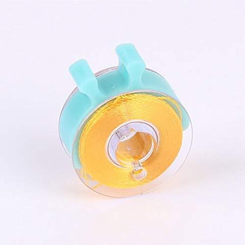 pack caja de bobina de coser accesorio de herramienta de costura de peque/ños clips Herramienta de soporte de clips de hilo de color 48pcs