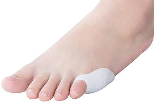 2Pcs Silicone Gel Toe Separators Straightener Bunion Protector Pain Relief Cushion Pad Foot Care - Air Balance Mens Work Boots