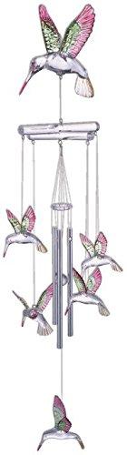 StealStreet SS-G-98675 Wind Chime Acrylic Hummingbird Hanging Garden Decoration Collection Review