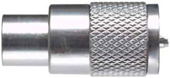 Pro Trucker UHF macho soldar PL259 conector de cable coaxial ...