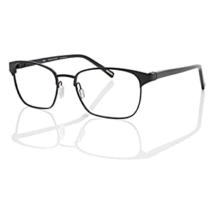 Eco Men's Mumbai Matte Black 52mm Eyeglasses, Size 52-17-140 B37
