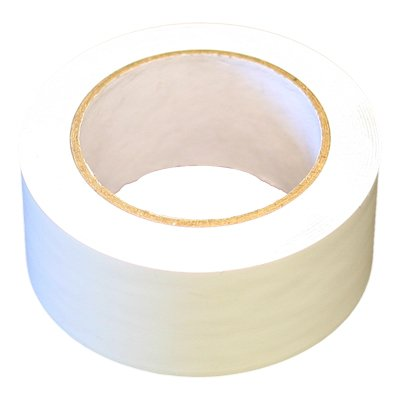 White Poly Tape 7mil 2''x60yds (24 Roll Case / $5.17 rl) by G3