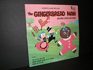 Gingerbread Print - The Gingerbread Man and Other Stories and Songs