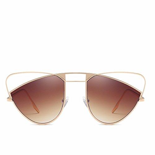 de C Intellectuality de Sol Gafas C Retro polarizadas Ojos Gafas de Sol Hombre Mujer Personalidad gq6B4qw5