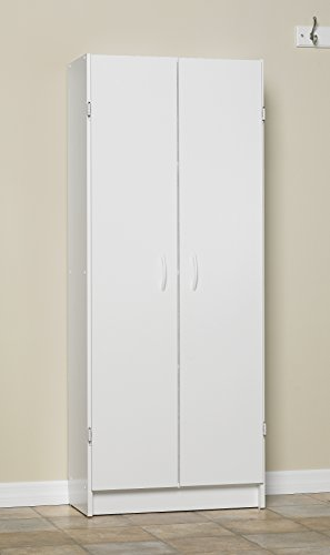 Pantry Cabinet: Closetmaid Pantry Cabinet White with Large Door ...