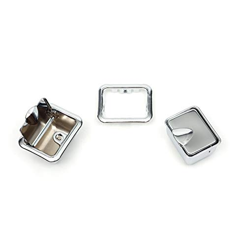 Eckler's Premier Quality Products 50212405 Chevelle Armrest Ashtrays Rear Convertible