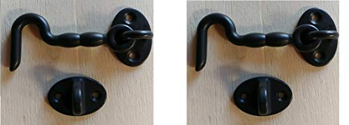Used, ArkHardware Door Hook Latch Swivel Window Gate Garage for sale  Delivered anywhere in USA