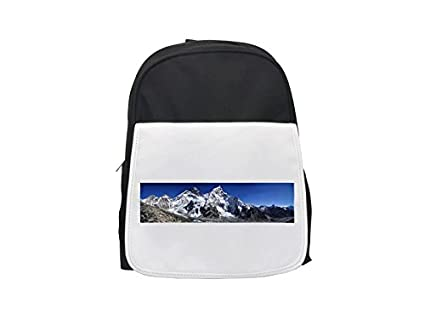 Mount Everest, Himalayas, Nuptse, Lhotse Mochila infantil estampada, mochilas lindas, mochilas