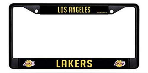 - Dark Branches Los Angeles Lakers Black License Plate Frame