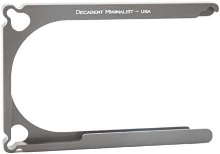 Decadent Minimalist Men's DM1 Aluminum Wallet