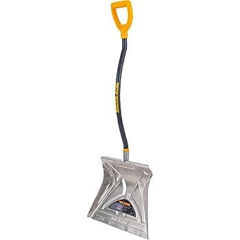 True Temper 20-Inch Aluminum Combo Ergonomic  Snow Shovel - 1613400