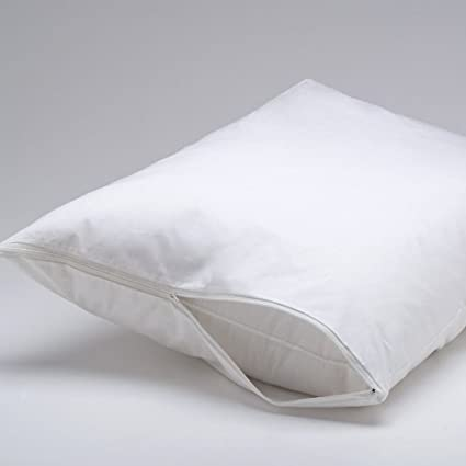 Amazon DELUXE Vinyl Pillow Protector With Zipper 40 Pillow Magnificent Mattress And Pillow Covers