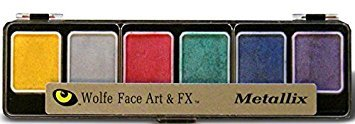 Wolfe Novelties - 6 Color Metallic Pallet