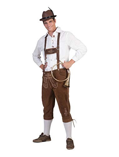 Funny Fashion Adult Tirol Bernd Lederhosen Pants