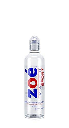 Zoé Water Agua Alcalina con Electrolitos, 500 ml
