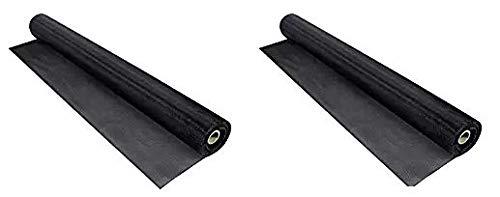 Phifer 3032233 PetScreen Single Roll, 60'' x 96'', Black (Twо Расk)
