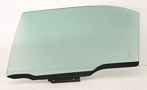 NAGD Compatible with 2003-2008 Toyota Corolla 4 Door Sedan Driver Side Left Rear Door Window Glass (2004 Toyota Corolla Driver Side Window Glass)