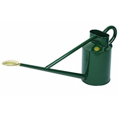 Haws V150G Professional Outdoor Metal Watering Can, 2.3-Gallon/8.8-Liter, Green