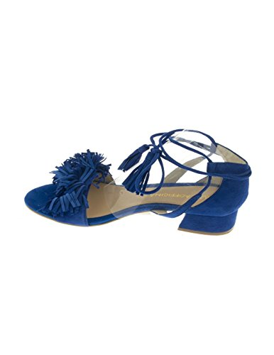 : Blau Gesäumten Sandale Partei Altraofficina Blau