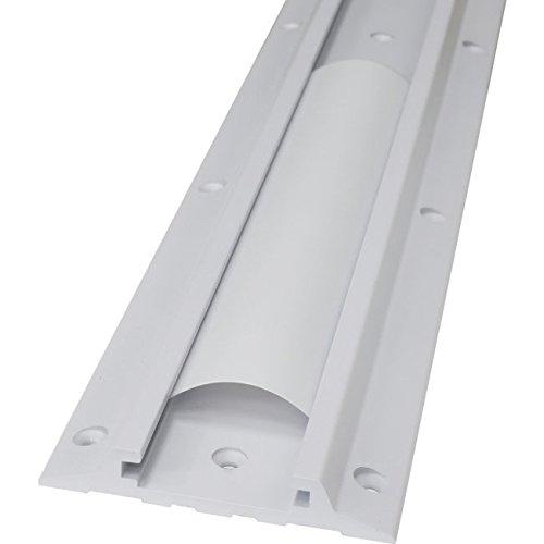 Ergotron Wall Mount Track for Workstation - Aluminum - White