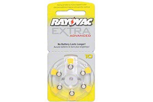 240 x Size 10 Rayovac Extra Advanced Hearing Aid Batteries …