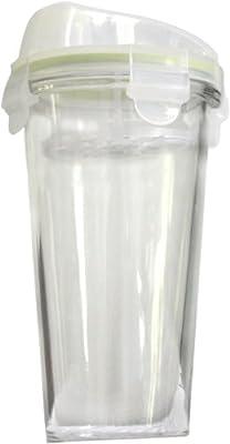 Kinetic Go Green GlassLock Beverage Shaker from Innova