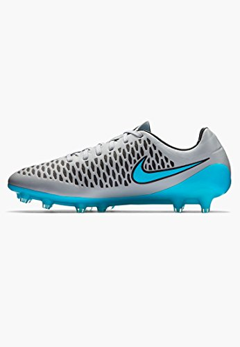 Soccer Shoes Uk Lupo Grigio Nike / Nero / Blu Turchese