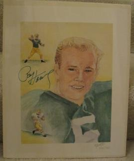 Paul Hornung Hand Signed Limited Edition Rick Antolic Lithograph Green Bay Packers (Le Hand Signed Lithograph)