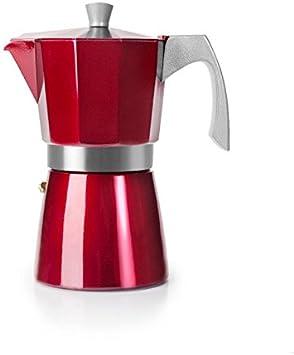 IBILI 623203 CAFETERA Express EVVA Red 3 Tazas: Amazon.es: Hogar
