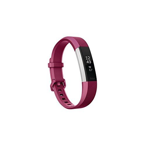 Fitbit Monitor de Actividad, color Morado, Chico