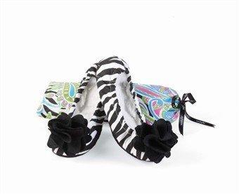 Scarpetta Da Danza Zebra Nera (misura Piccola Scarpa 5-6,5) - 660030